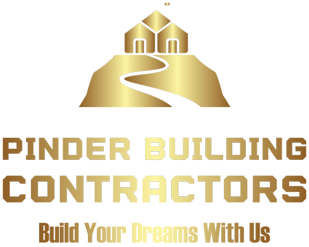 Pinder Building Contractors. Extensions and conversions in Bromley & Lewisham. Main logo.